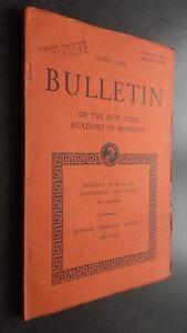 Notiziario Of I N.York Academy Of Medicina Aprile 1950 Be