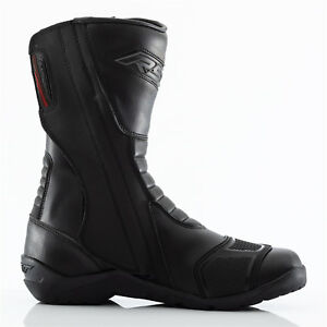 Ce Moto Tundra Negro Aprobado Hombre Impermeables Botas Rst qw1RaxEq