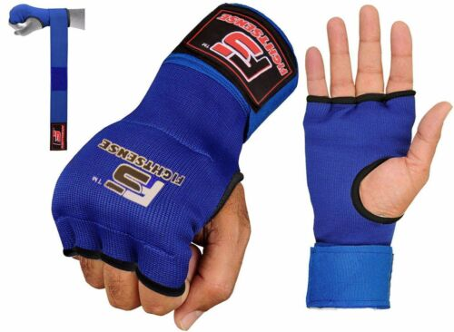 FS Boxing Gel Gloves,MMA,Grappling Gloves with Hand Wraps,Inner Gloves,UFC New