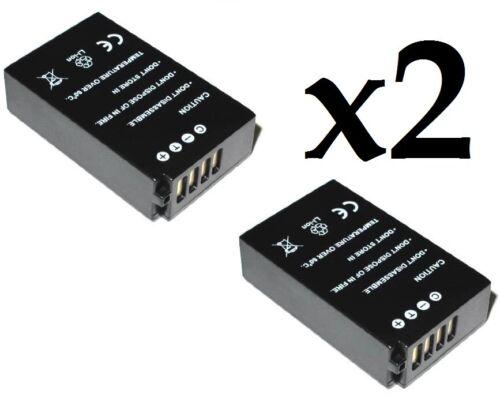 X2 ENEL20 EN-EL20 1020mAh Battery for NIKON 1 Nikon Coolpix A. J1 S1 J2 J3