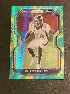 Champ Bailey 2020 Prizm Green Fireburst /175 Denver Broncos 👀🏈🐴