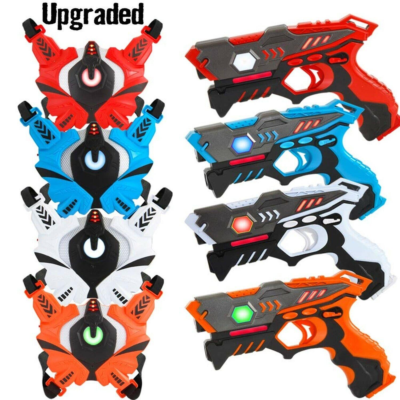 VATOS infraröda laser Tag Guns med väster, Laser Tag Game Toy för barn och...