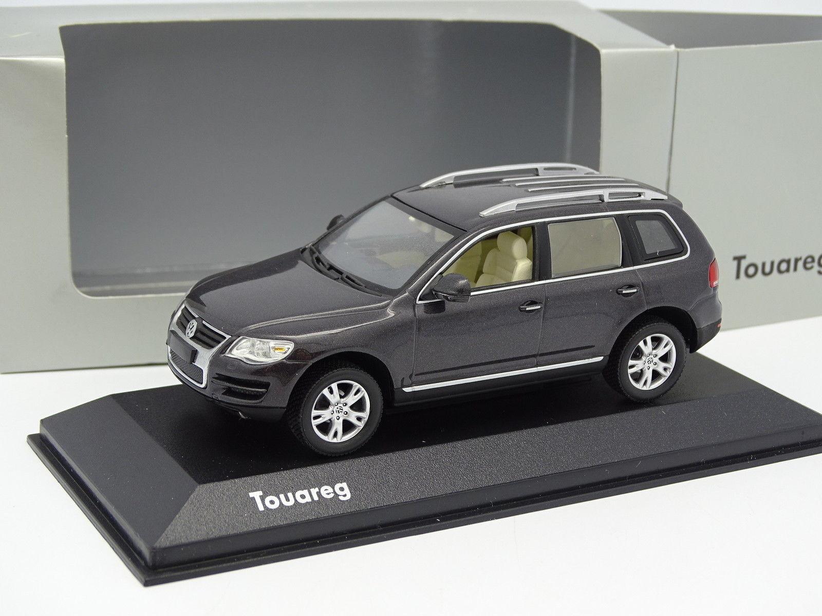 marcas de diseñadores baratos Minichamps Minichamps Minichamps 1 43 - VW Touareg Anthracite  n ° 1 en línea
