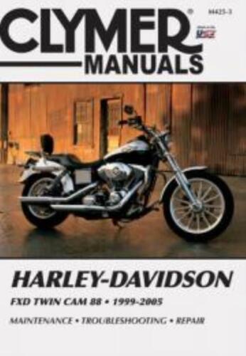 Clymer Manuale officina servizio riparazione Harley-Davidson FXD Twin Cam 88 1999-2005