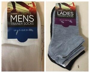 MENS-WOMENS-TRAINER-SOCKS-Summer-Gym-Sports-Plain-Ankle-Shoe-Liners-Footsies