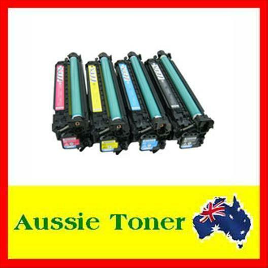 4x Toner Cartridge for HP CE410A CE410X CE411A CE412A CE413A 305A 305X M451 M475