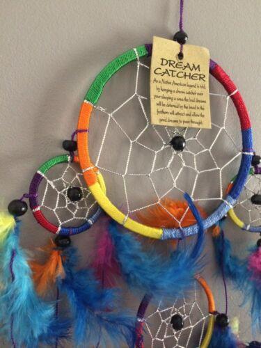Dreamcatcher Traumfänger Träume Rainbow Regenbogen 7 Chakra Farben Chakren N°2