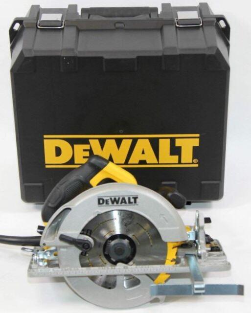 DeWALT DWE576K Sierra Circular de Mano 61mm 1600W 5200U / Mínimo Con Maleta