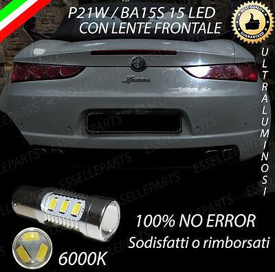 LAMPADA RETROMARCIA 15 LED P21W BA15S CANBUS ALFA ROMEO MITO 6000K NO ERROR