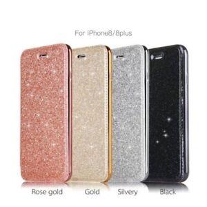 gold iphone 8 flip case
