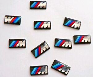10-x-Felgen-Tacho-Lenkrad-3D-Emblem-Auto-Car-Sticker-Aufkleber-fuer-BMW-M3-M5-M6