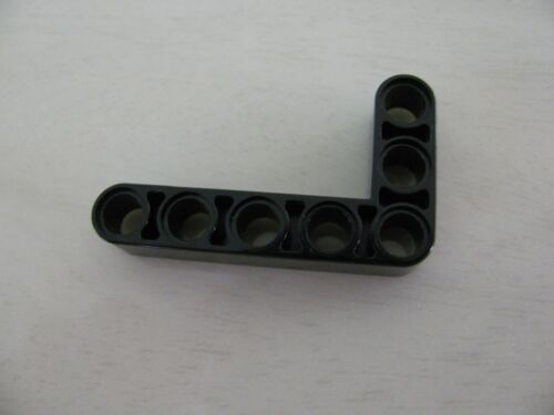 Genuine Lego Mindstorms Black Beam Bent 90 degrees 3 and 5 Holes 32526 43886 New
