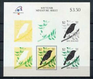 34845) New Zealand 1989 MNH Philexfrance S/S