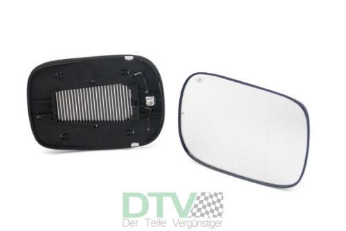 Beifahrerseite 10//04-05//06  Neu Volvo XC90 Spiegelglas Außenspiegel-Glas rechts