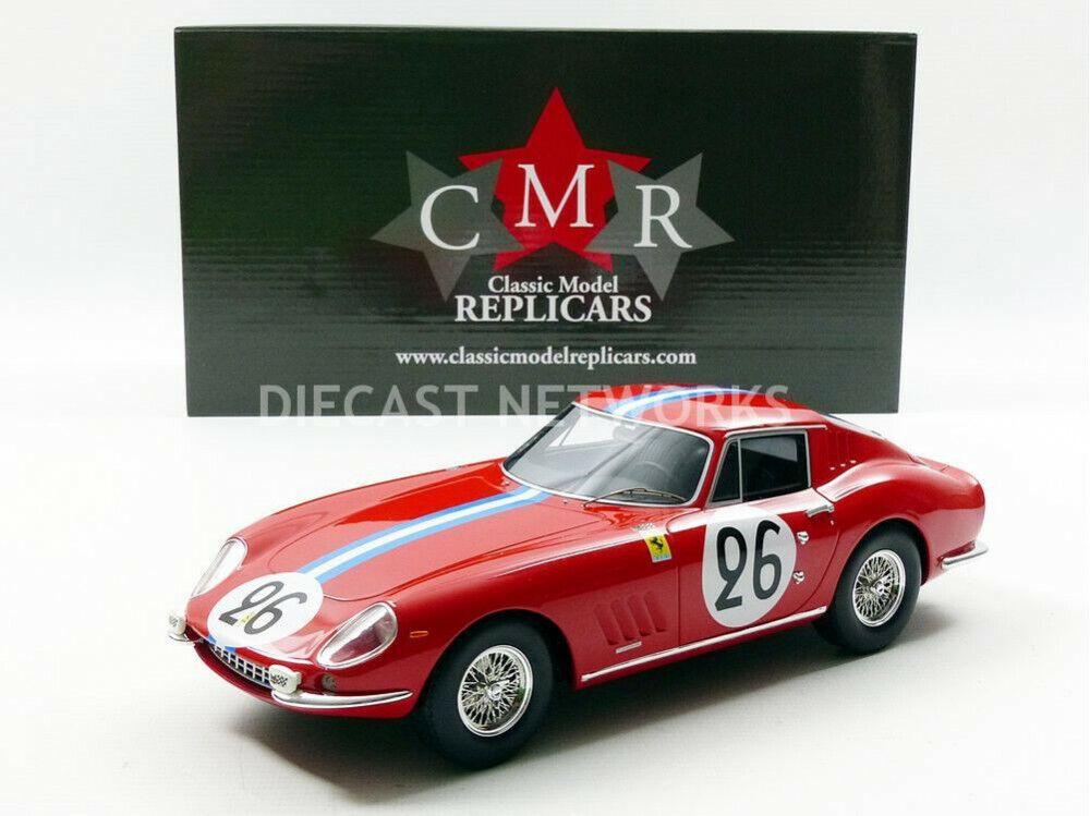 CMR - 1 18 - FERRARI 275 GTB COMPETIZIONE NART - LE MANS 1966 - CMR037