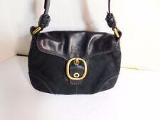 COACH - Signature shoulder bag, leather trimming