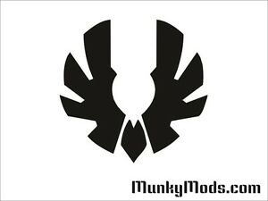 Bitfenix-Wing-Logo-Computer-PC-Case-Window-Applique-Vinyl-Decal-Color-Choices