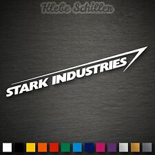 13029 Stark Industries Aufkleber Sticker Iron Man DUB JDM OEM Fun Shocker