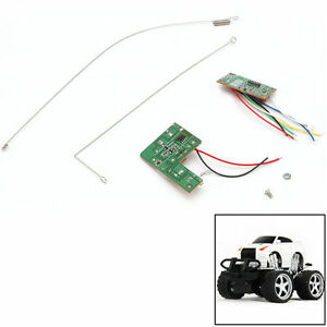 4CH-27MHZ-Remote-Control-Circuit-PCB-Board-Transmitter-Toys-Receives-Antenna