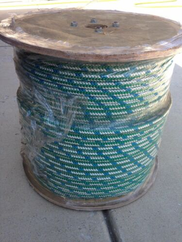 "1//2/"" x 600/' Arborist tree climbing rope 16 strand braided *MUST READ DESCRIPTION"