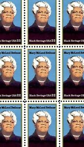1985 - MARY McLEOD BETHUNE -#2137 Full Mint -MNH- Sheet of 50 Postage Stamps