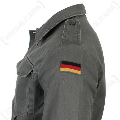 stile stile tedesco 100 fustagno nuovo Giacca cotone vecchio militare oliva 1I7WCnqw