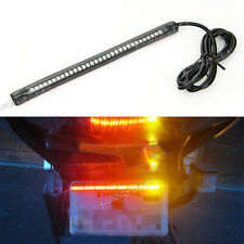 33SMD Motor LED Bar Brake Tail Light &Turn Signal Lamp Fit For Yamaha motorcycle