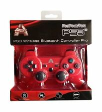 Arsenal PS3 bluetooth Wireless controller - Red with Free charge Cable