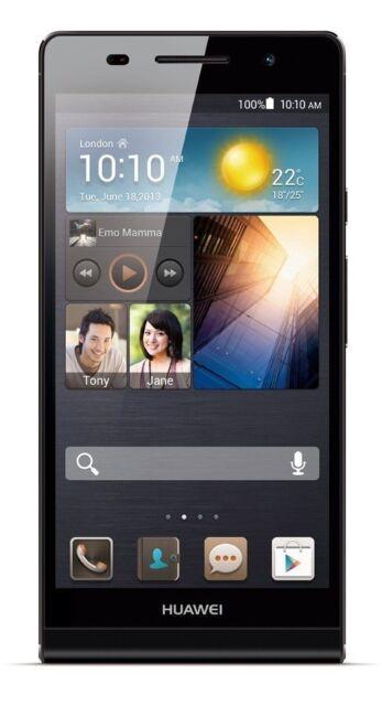 Huawei  Ascend P6 - 8GB - Schwarz (Ohne Simlock) Smartphone