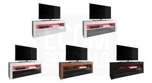 TV-Mobel-Stander-Schrank-Fernsehtisch-Fernsehschrank-Luna-140-cm