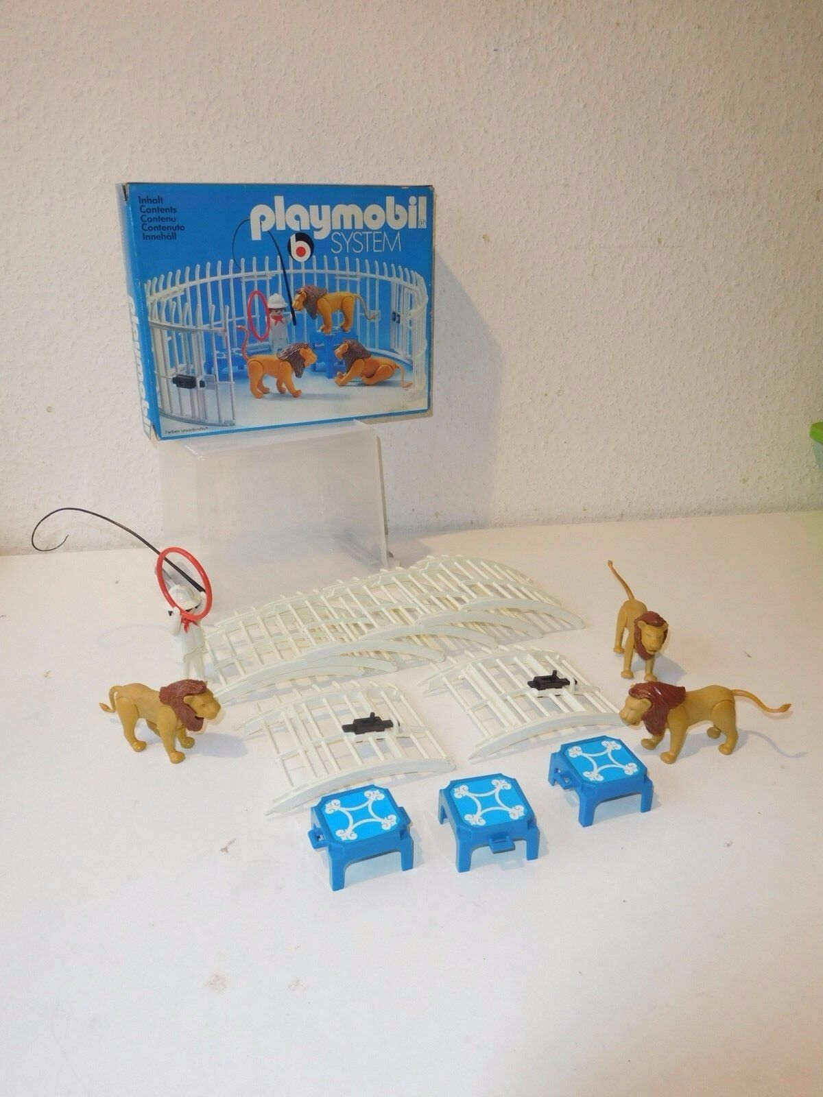 Playmobil 3517 lion's cage circus ovp