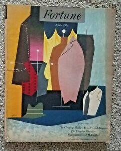 Fortune Magazine April 1954 Vintage Ads McCarthy Chrysler