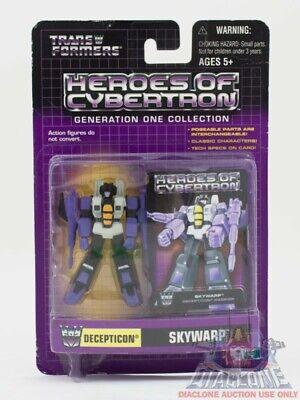 Hasbro Transformers Heroes of Cybertron HOC Skywarp PVC figure MOC