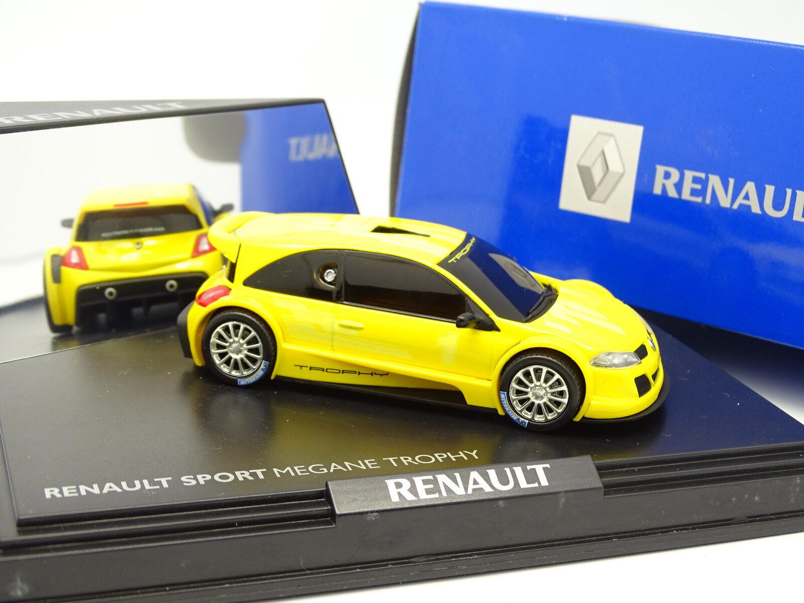 Norev 1 43 - Renault Sport Megane Trophy Gialla