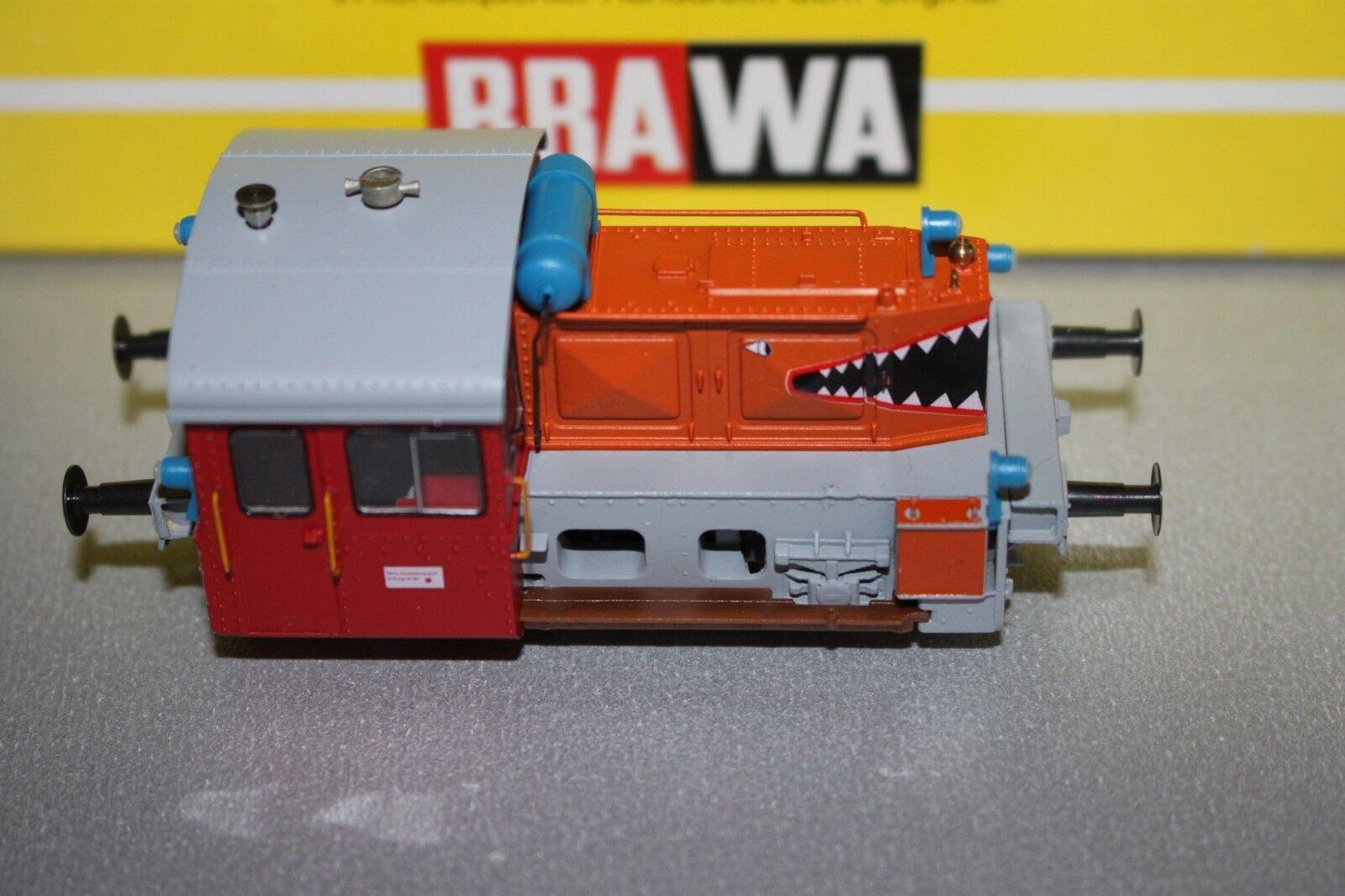 Brawa 0459 Diesellok Köf II Haifischmaul 1 87 Spur H0 OVP