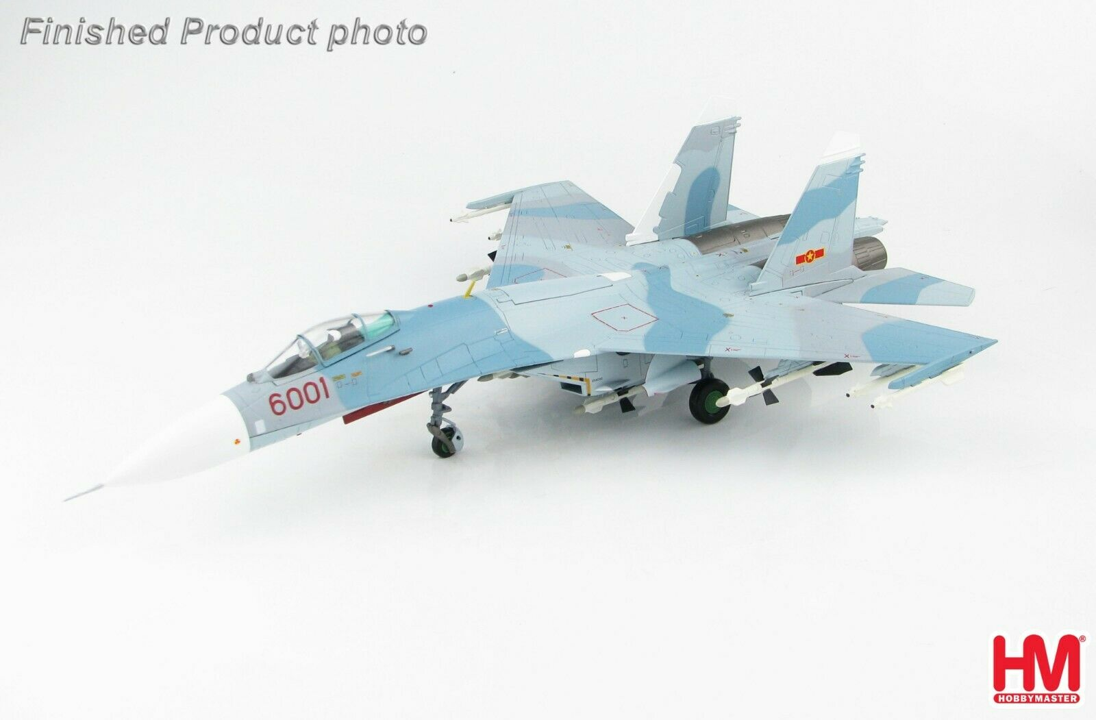 Sukhoi Su-27SK Flanker 370th Fighter Div Vietnamese Air Force Hobbymaster HA6007