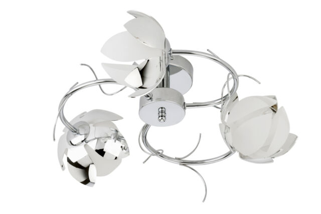 BRILONER BLUMEN DECKENLEUCHTE DECKENLAMPE LAMPE LEUCHTE 3191-038 IDEAL FÜR LED