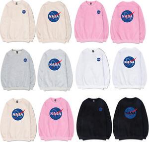 e0261d1836443 Men s Women s NASA Space Logo Sweatshirts Hoody Hoodie Pullover ...