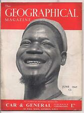 the geographical magazine-JUNE 1947-THE CHIEF OF THE BULI TRIBE.