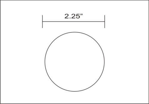 "2-1//4/"" ALUMINUM 6061 T6511 ROUND ROD 12/"" long 2.25 Diameter Lathe Bar Stock"
