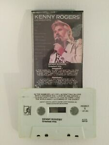 Kenny Rogers Greatest Hits Audio Cassette 1980 Liberty 4LOO1072/The Gambler