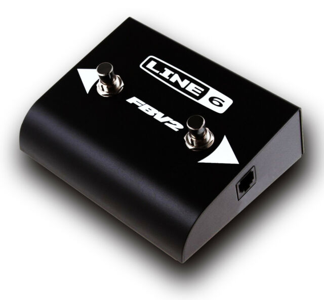 Line 6 FBV2 Footswitch For Spider Amplifiers & Pod Units FBV 2-button Controller