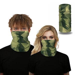 Outdoor Sports Ice Silk Antisweat Magic Scarf Neck Warmer Headband Face Mask New