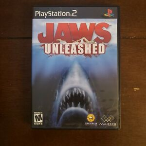 Jaws Unleashed (Sony PlayStation 2, 2006) PS2 Complete & Tested Black Label