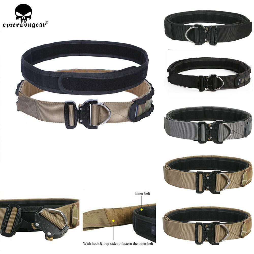 Emerson Tactical Cobra Belt 1.75  &2  Inner&Outer Rigger  Combat Patrol Duty Belt  more discount