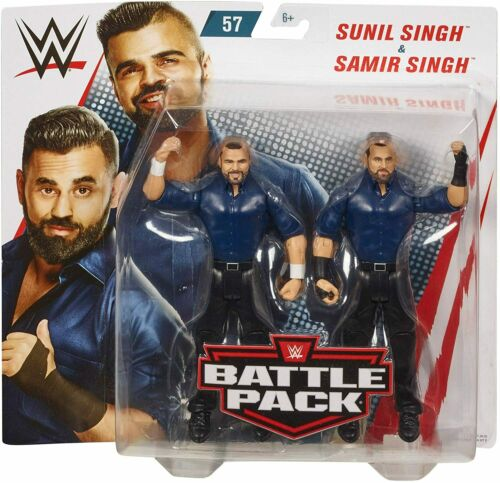 Sunil /& Samir Singh Frères Battle Pack Series 57 Action Figures Toy-Neuf