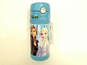 Disney-Frozen-2-Anna-Elsa-Olaf-Stainless-Steel-Thermos-Funtainer-Bottle-12oz