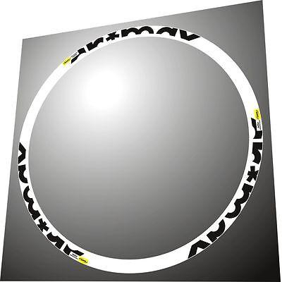 MAVIC CROSSMAX SLR 26 COLL//INCH 2014  MTB REPLACEMENT RIM DECAL SET
