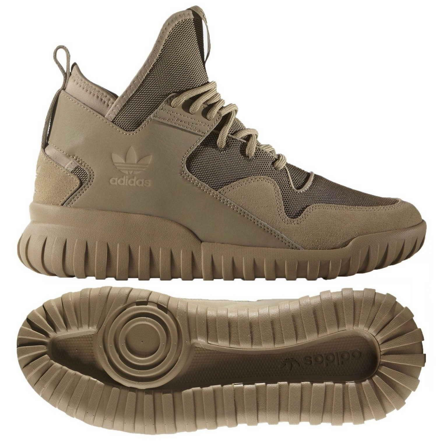 Adidas Originals Women's Tubular X Hemp Trainers Unisex