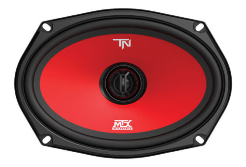 """MTX TERMINATOR69 6/"""" x 9/"""" Inches 2-Way 120 Watts RMS Coaxial Car Audio Speakers"""